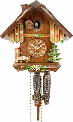 1-Day Black Forest Chimney Sweeper House Cuckoo Clock