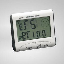 1 Pc Thermometer DC102 High Accuracy Digital Hygrometer Cloc