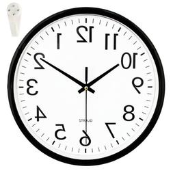 "10""Inch Round Silent Quartz Home Decorative Wall Clock Non-t"