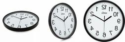 HIPPIH 10 Silent Quartz Decorative Wall Clock Non-Ticking Cl