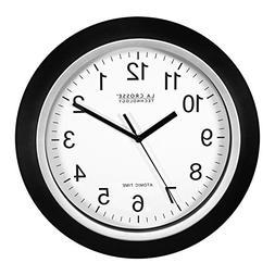 12 Atomic Analog Wall Clock