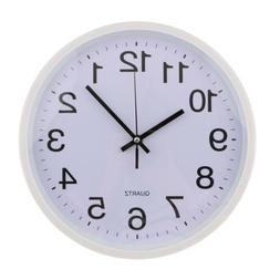12'' Large Wall Clock Decorative Analog Clock For Home Kitch
