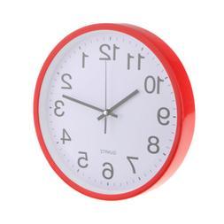 "12"" Quartz Wall Clock Analog Clock for Home Living Room Bedr"