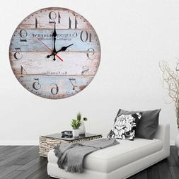 12 Vintage Wall Clock Rustic Wall Clock Quartz Victor Hugo
