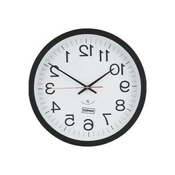 "Staples 14"" Round Atomic Wall Clock  812291"