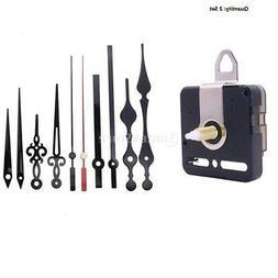 2 Pack Silent Clock Movement Wall Clock Motor Kit Repair Par