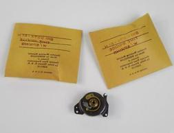 2 Vtg 1950s WESTCLOX Clock Repair Parts Time Bridge & Spring