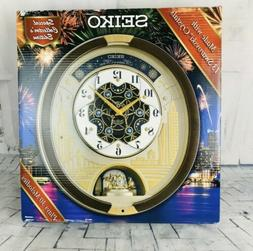 2019 Seiko Melodies in Motion Special Edition Wall Clock Swa