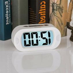 2019 Small Clock LCD Travel Alarm Clock With Snooze Good Nig