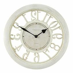 "Equity by La Crosse 20857 11.5"" White Floating Dial Wall Clo"