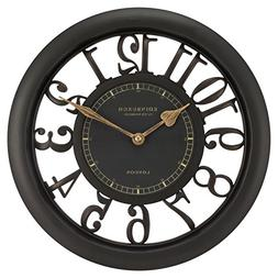 "20858 Edinburgh Clock Works Company 11.5"" Floating Dial Wall"