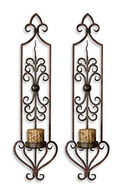Uttermost 20987 Accents Billy Moon Home Decor Candle Holders