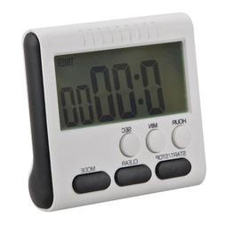 24 Hours <font><b>Kitchen</b></font> Timer Magnetic LCD Digi