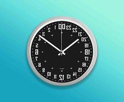 24 hours wall clock 9 22 8cm