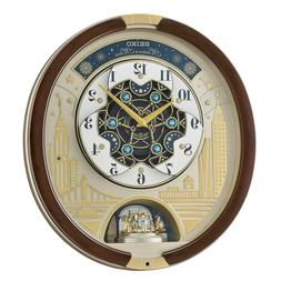 SEIKO 30 Melodies in Motion Animated Musical Wall Clock Swar