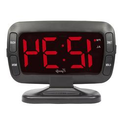 "Equity by La Crosse 30017 1.8"" LED Display Tilt Clock with A"