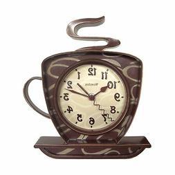 Westclox 32038 Coffee Time 3-D Wall Clock 1
