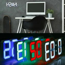 3d modern design digital led usb wall