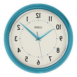 "404-2624T La Crosse Clock Company 9.5"" Plastic Diner Analog"