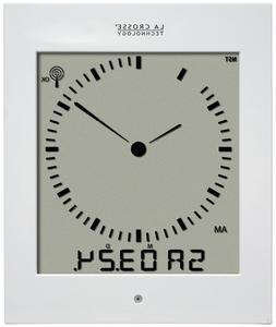 La Crosse Technology 513-1311A Analog Style Digital Atomic W