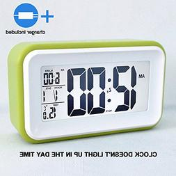 HITO™ 6 Alarm Clock w/ Date and Temperature Display, Repea