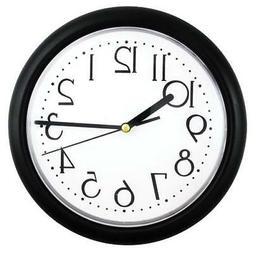"Timekeeper 6209B 9"" Resin Case Clock"