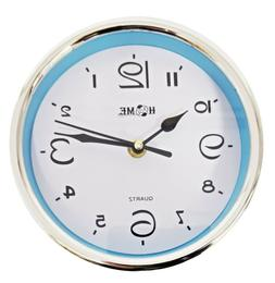 7 Inches Elegant Round Shape Wall Clock For Home/ Office, Bl