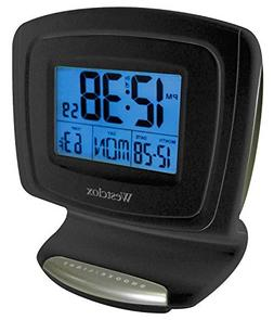 Westclox 70026 Large Display W/Indoor Temp, Touch Activated