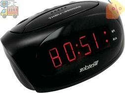 NEW Westclox 70044a Super-loud Led Electric Alarm Clock
