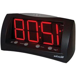 WESTCLOX 66705 1.8'' Oversized Snooze Alarm Clock