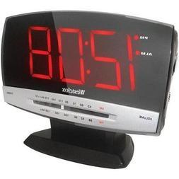 Westclox 80187A Tech Large Display Clock Radio