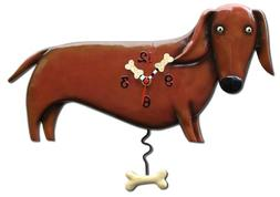 Allen Designs Oscar  Dog Pendulum Clock