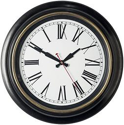 Bernhard Products Large Wall Clock 18 Inch Quality Quartz Si