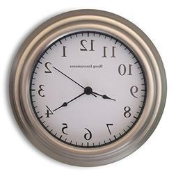 "Bjerg Instruments Small 8"" Wall Clock"