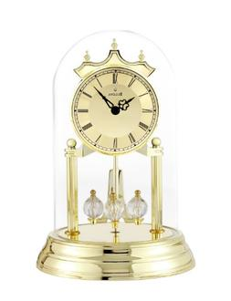 Bulova B8818 Tristan I Clock, Brass Finish