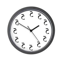 """CafePress - All Fives - Unique Decorative 10"""" Wall Clock"""