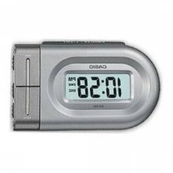 Casio- Dq543-8 Digital Beep Alarm Clock - Silver