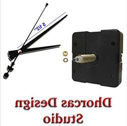 """Dhorcas Quartz Clock Movement Kit for Replacement, 3/4"""" Thre"""