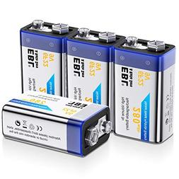 EBL 9V Rechargeable Batteries NiMH Everyday 280mAh 9V Batter