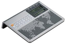 Howard Miller Atlas World Clock and Calculator