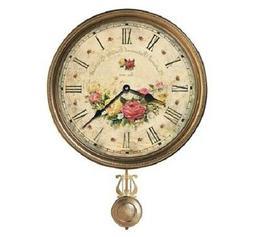 Howard Miller - Savannah Botanical VII Wall Clock