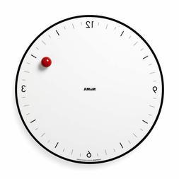 Moma Timesphere Clock White
