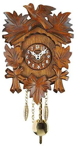 Trenkle Kuckulino Black Forest Clock with quartz movement an
