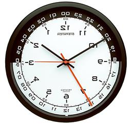 Trintec 12 & 24 Hour Military Time Swl Zulu Time 24hr Wall C
