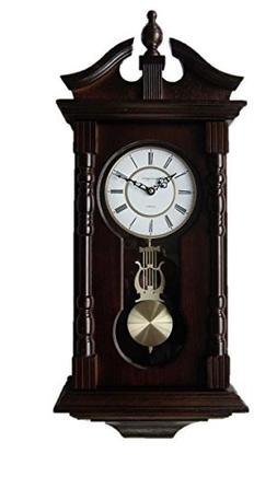 Vmarketingsite Wall Clocks: Grandfather Wood Wall Clock with