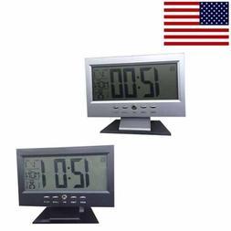 ABS Automatic Digital Full Calendar Wall Clock Large Screen