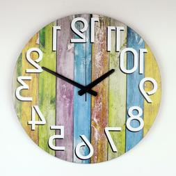 Abstract Silent Clock Modern Design Large Watch For Home Liv
