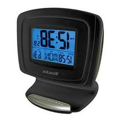 Westclox Digital LCD Alarm Clock with Date and Temperature
