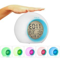 I2USHOP Alarm Clock for Kids Bedroom, Wake Up Light Digital