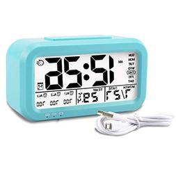 Aitey Alarm Clock, Digital Alarm Clock for Kids, Time/Date/T